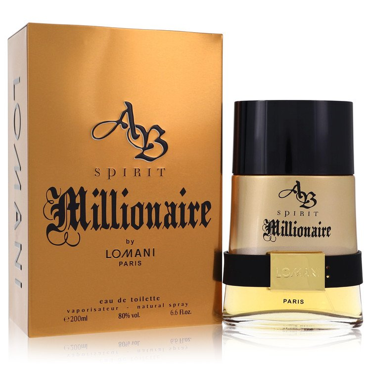 Spirit Millionaire Cologne by Lomani 200 ml EDT Spay for Men
