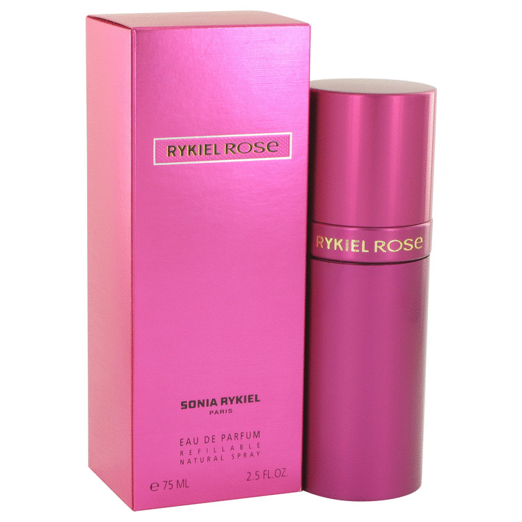 Sonia Rykiel Rose Perfume 75 ml Eau De Parfum Spray Refillable for Women