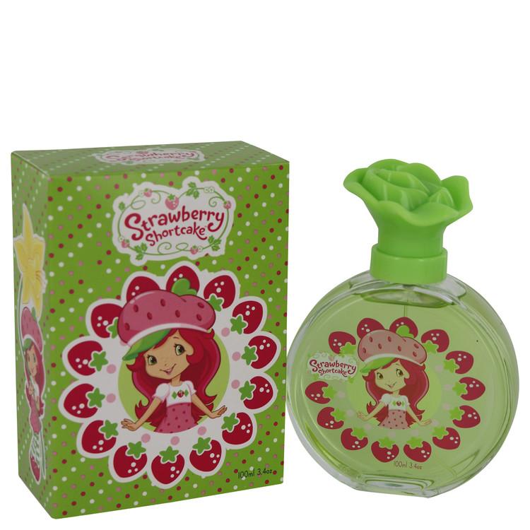 Strawberry Shortcake by Marmol & Son for Women Eau De Toilette Spray (New Packaging) 3.4 oz