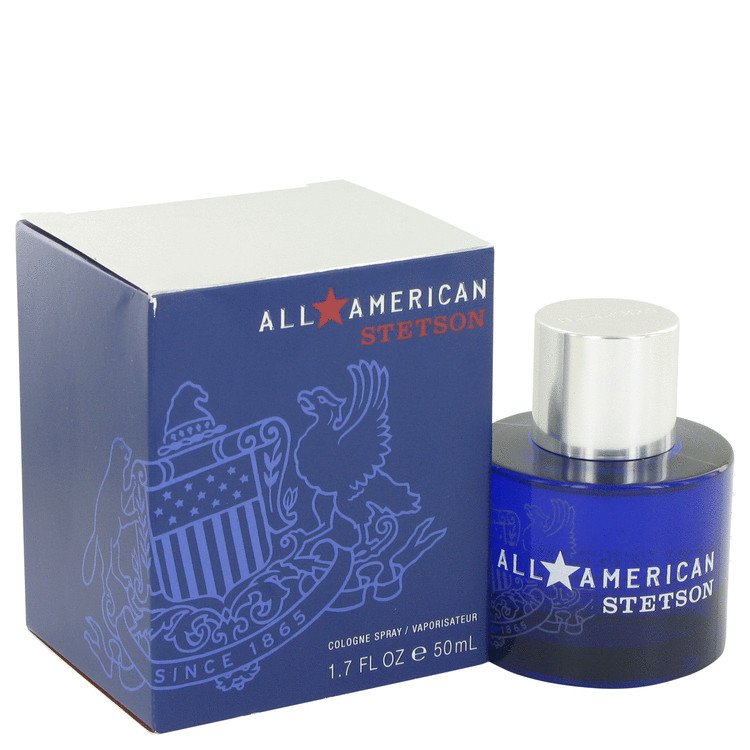 Stetson All American Cologne by Coty 50 ml Cologne Spray for Men