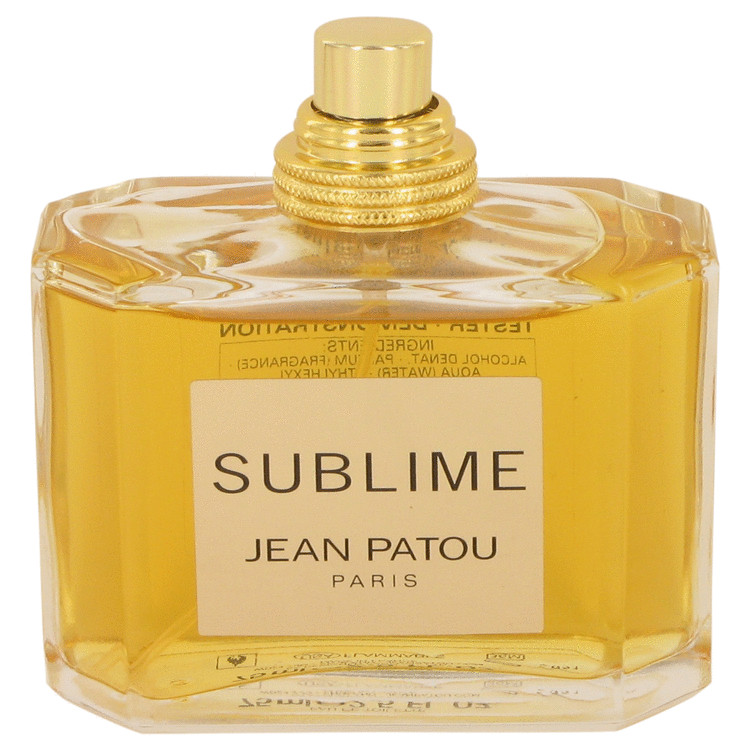 Sublime Perfume by Jean Patou 75 ml EDT Spray(Tester) for Women