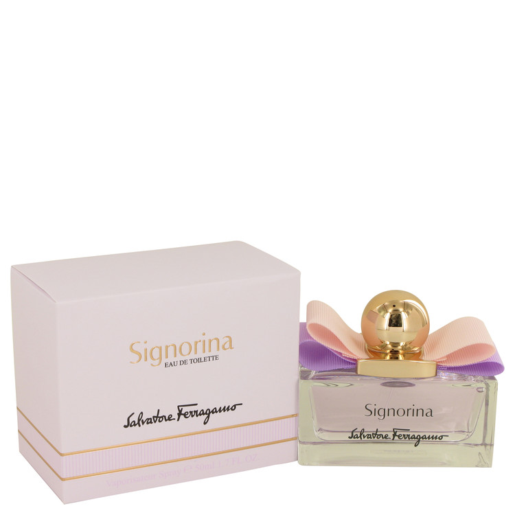 Signorina by Salvatore Ferragamo for Women Eau De Toilette Spray 1.7 oz