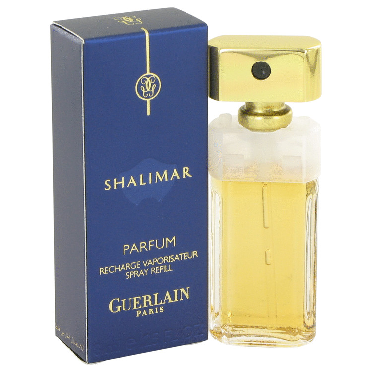 Shalimar Perfume by Guerlain 7 ml Eau De Parfum Spray Refill for Women