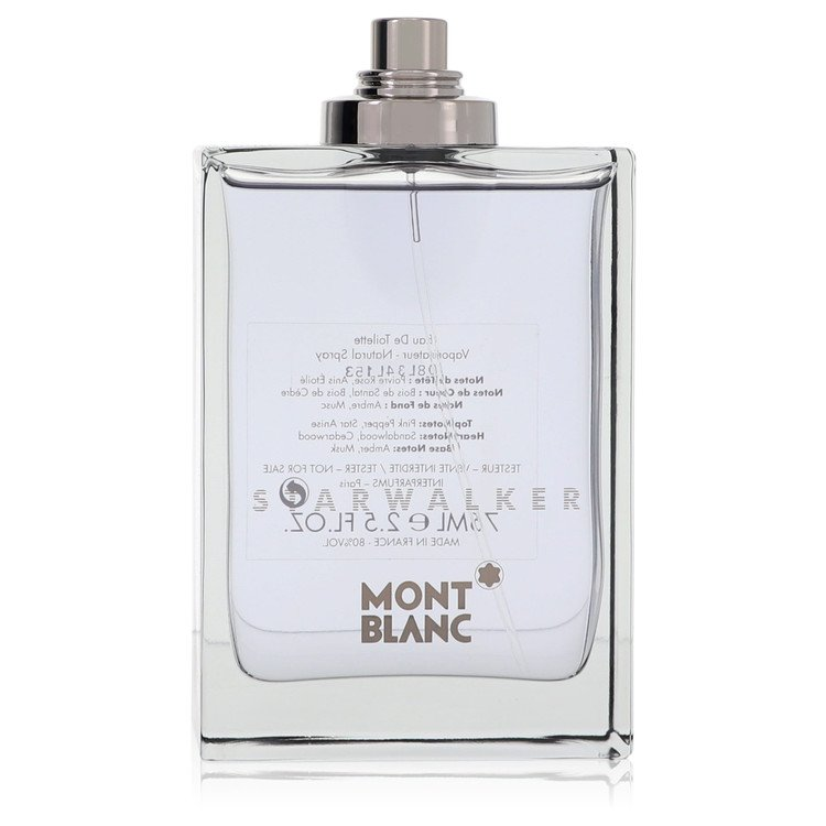 Starwalker Cologne by Mont Blanc 75 ml EDT Spray(Tester) for Men