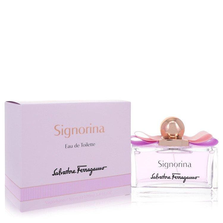Signorina by Salvatore Ferragamo for Women Eau De Toilette Spray 3.4 oz