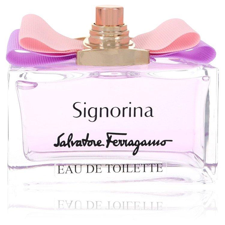 Signorina by Salvatore Ferragamo for Women Eau De Toilette Spray (Tester) 3.4 oz