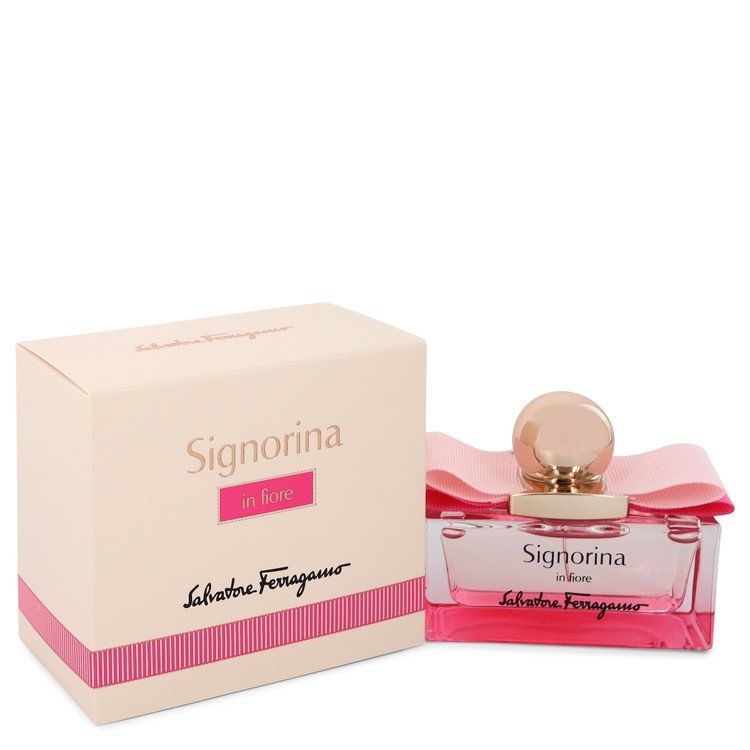 Signorina In Fiore by Salvatore Ferragamo Women's Eau De Toilette Spray 1.7 oz