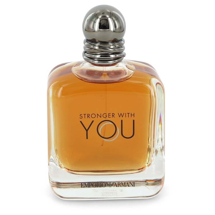 Stronger With You by Giorgio Armani Men's Eau De Toilette Spray (unboxed) 3.4 oz