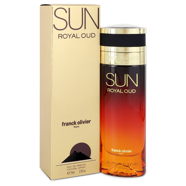 Sun Royal Oud by Franck Olivier Eau De Parfum Spray 2.5 oz for Women