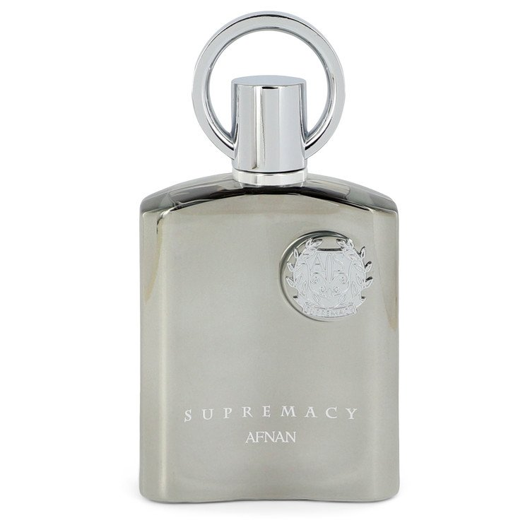 Supremacy Silver by Afnan Men's Eau De Parfum Spray (unboxed) 3.4 oz