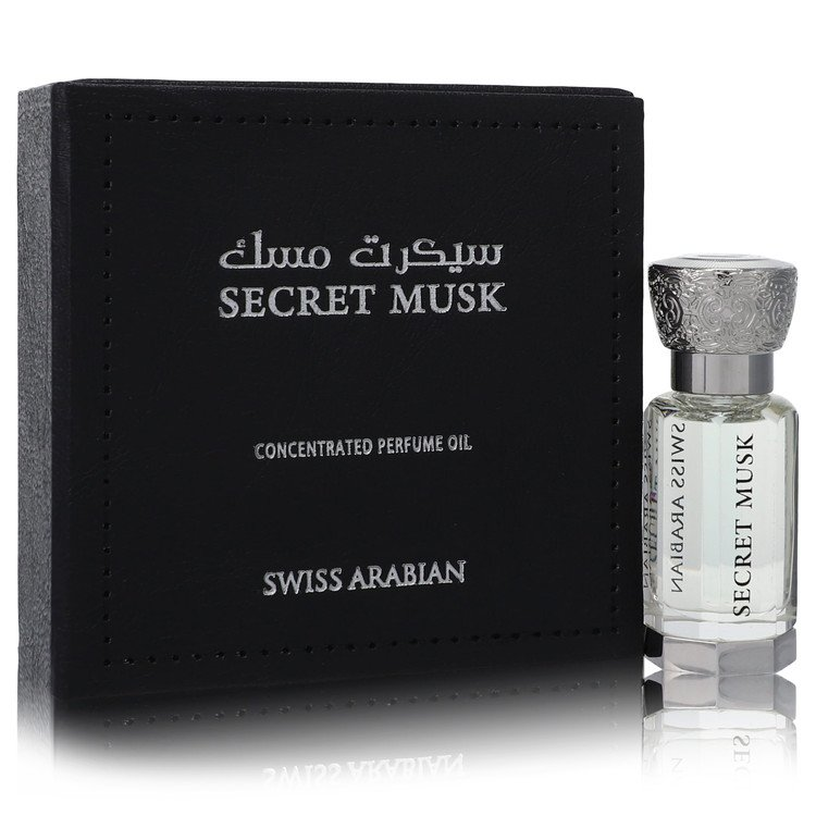 Swiss Arabian Secret Musk by Swiss Arabian –  Concentrated Perfume Oil (Unisex) .40 oz 12 ml