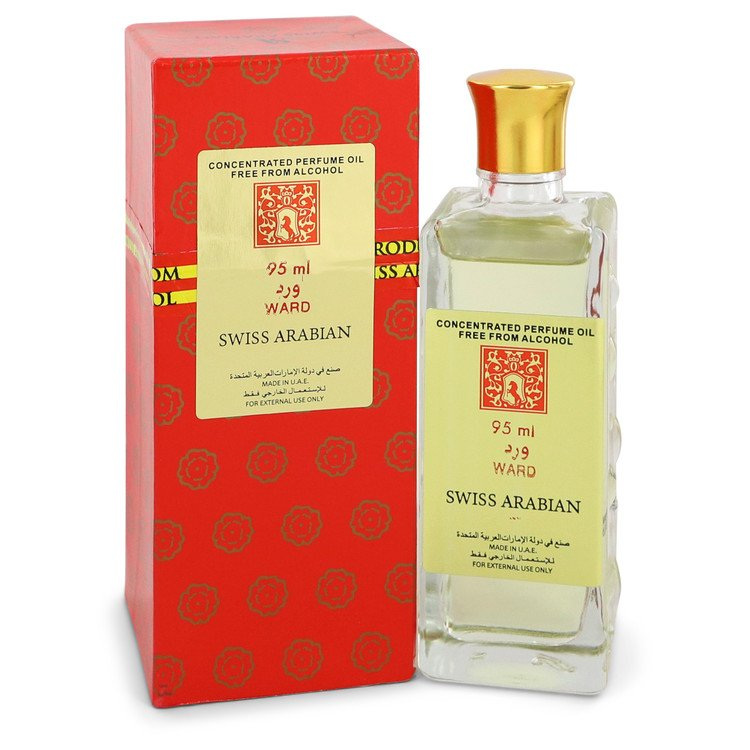 Swiss Arabian Ward  by Swiss Arabian Concentrated Perfume Oil Free From Alcohol 3.21 oz for Men