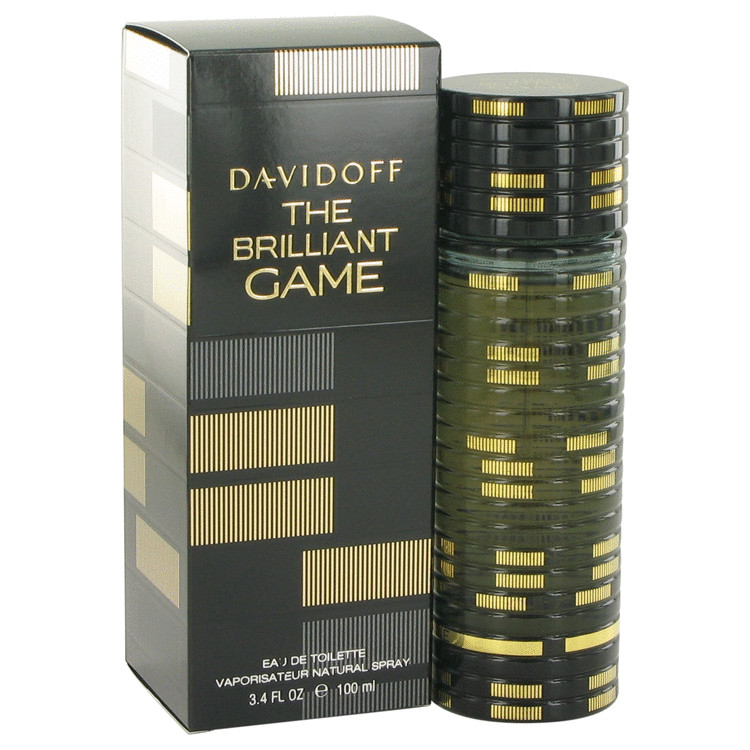 The Brilliant Game Cologne by Davidoff 3.4 oz EDT Spay for Men
