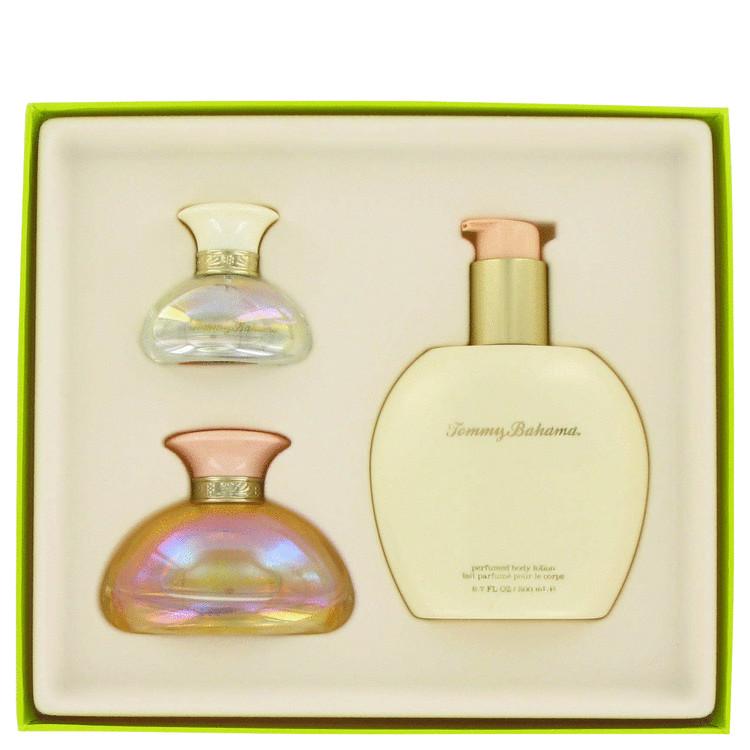 Tommy Bahama Very Cool Gift Set -- Gift Set - 1.7 oz Eau De Toilette Spray + .5 oz Mini + 6.8 oz Body Lotion for Women