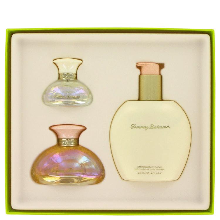 Tommy Bahama Gift Set -- Gift Set - 1.7 oz Eau De Parfum Spray + .5 oz Mini EDP Spray + 6.7 oz Body Lotion for Women