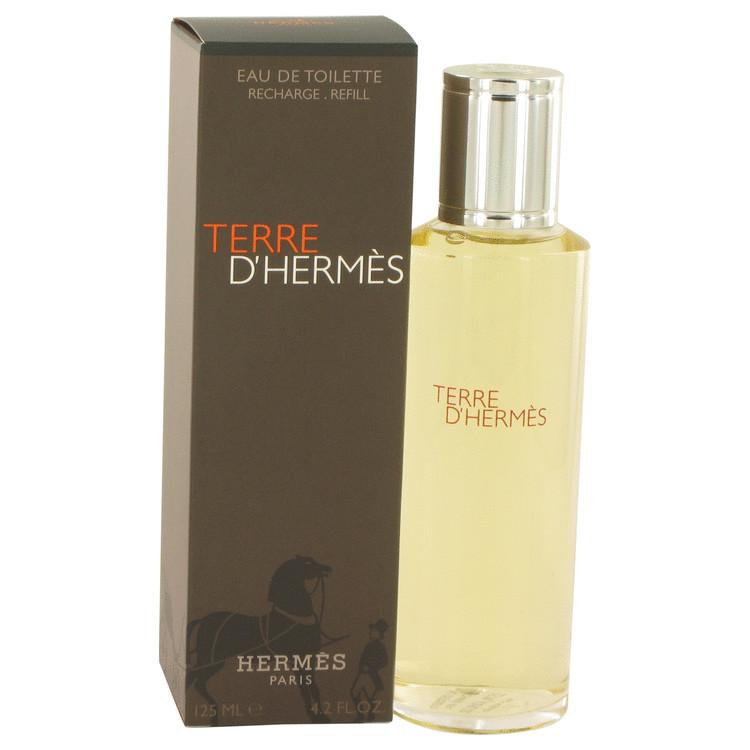 Terre D'hermes Cologne 125 ml Eau De Toilette Spray Refill for Men