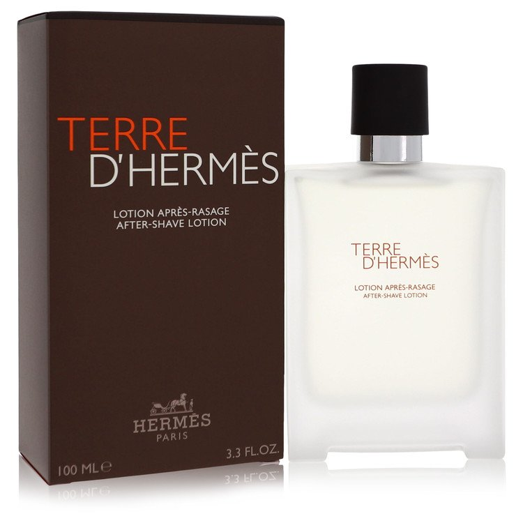 Terre D'hermes After Shave by Hermes 3.4 oz After Shave Lotion for Men