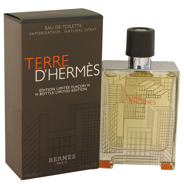 Terre D'hermes Cologne 100 ml Eau De Toilette Spray (Limited Edition Packaging and bottle) for Men