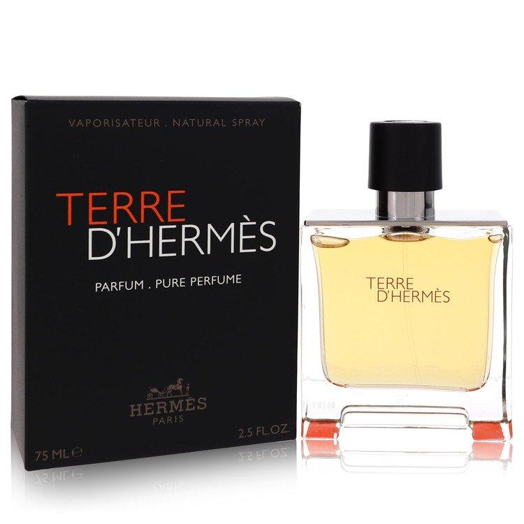 Terre D'hermes Cologne by Hermes 75 ml Pure Pefume Spray for Men