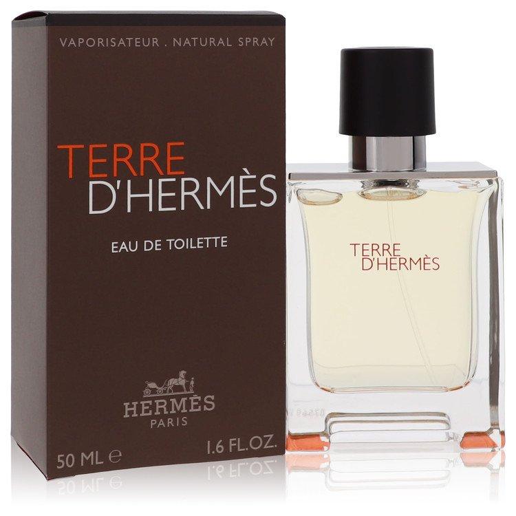 Terre D'hermes Cologne by Hermes 50 ml Eau De Toilette Spray for Men