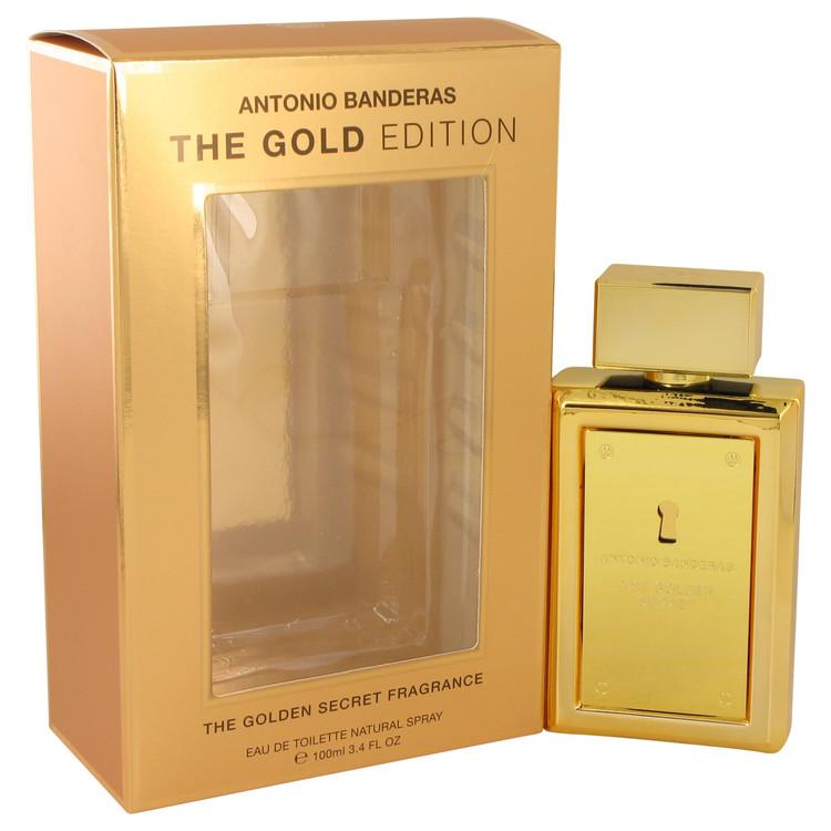 The Golden Secret Cologne 100 ml Eau De Toilette Spray (The Gold Edition) for Men