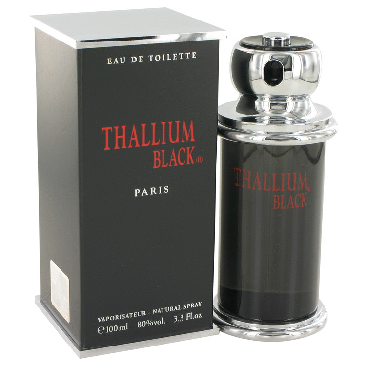 Thallium Black Cologne 100 ml Eau DeToilette Spray for Men