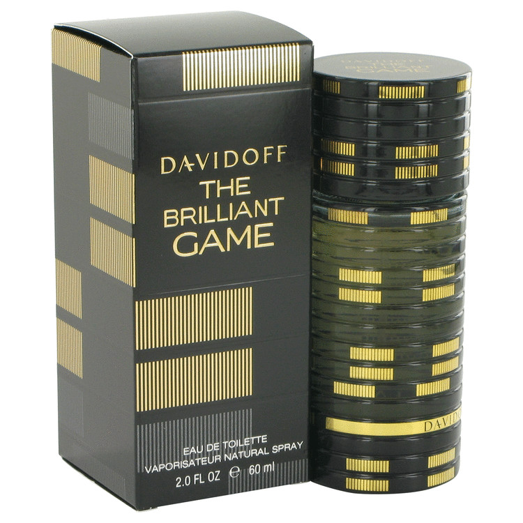 The Brilliant Game Cologne by Davidoff 60 ml EDT Spay for Men