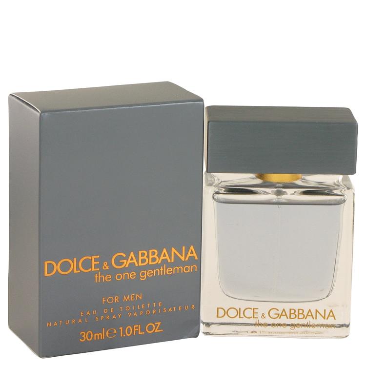 The One Gentlemen by Dolce & Gabbana –  Eau De Toilette Spray 1 oz 30 ml for Men