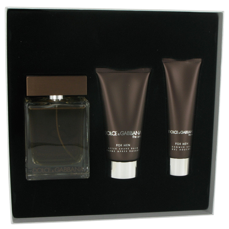 The One Gift Set -- Gift Set - 3.3 oz Eau De Toilette Spray + 2.5 oz After Shave Balm + 1.6 oz Shower Gel for Men
