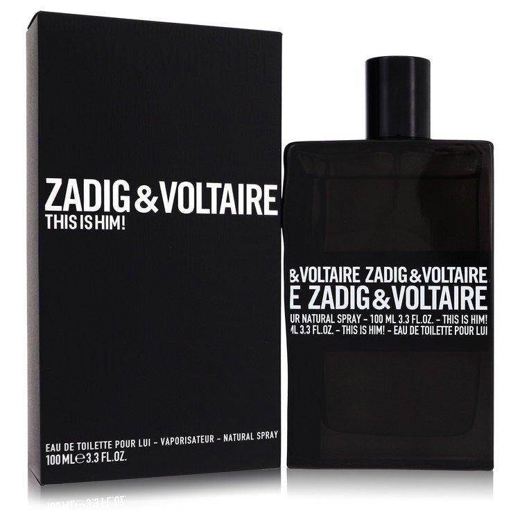 This is Him by Zadig & Voltaire for Men Eau De Toilette Spray 3.4 oz
