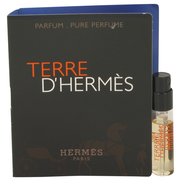 Terre D'Hermes by Hermes for Men Vial (sample) Pure Perfume .05 oz