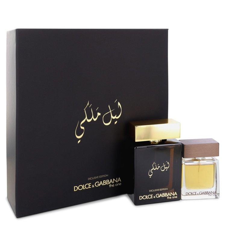 The One Royal Night by Dolce & Gabbana for Men Gift Set -- 3.3 oz Eau De Parfcum Spray + 1 oz Eau De Toilette Spray
