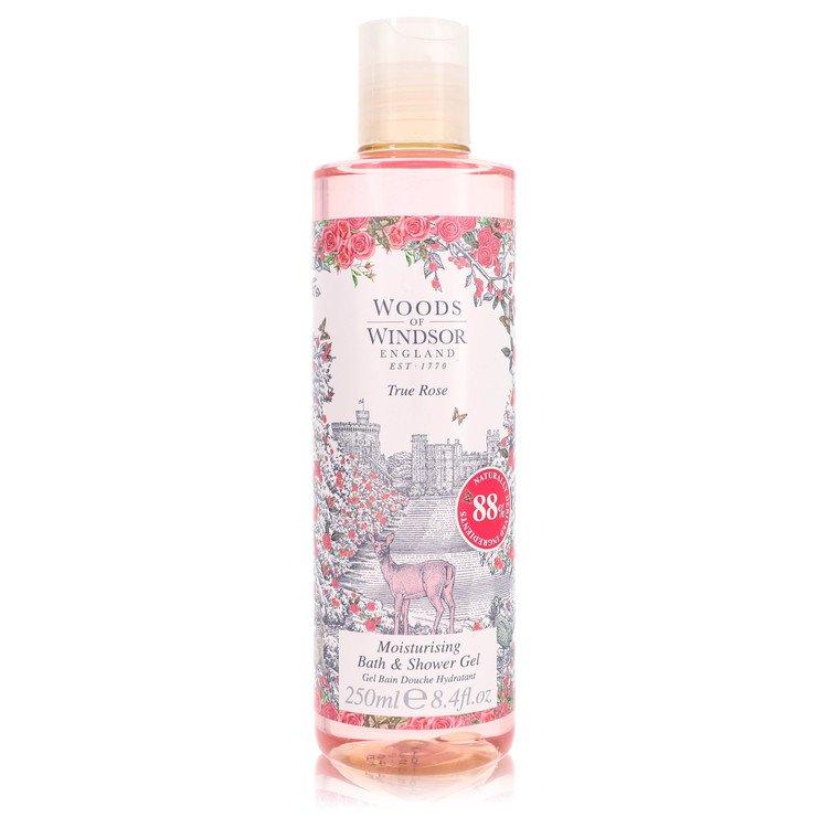 True Rose by Woods of Windsor for Women Shower Gel 8.4 oz
