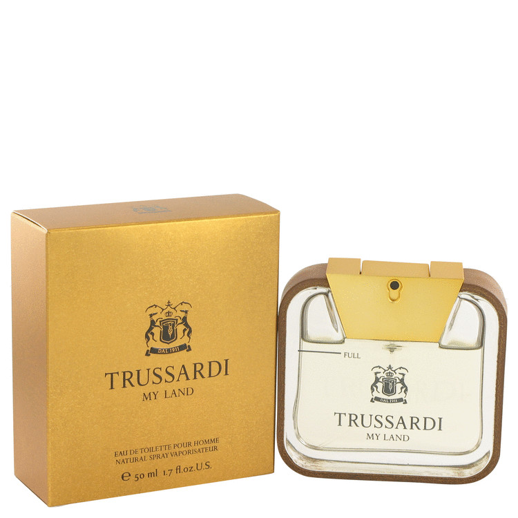 Trussardi My Land Cologne by Trussardi 50 ml EDT Spay for Men