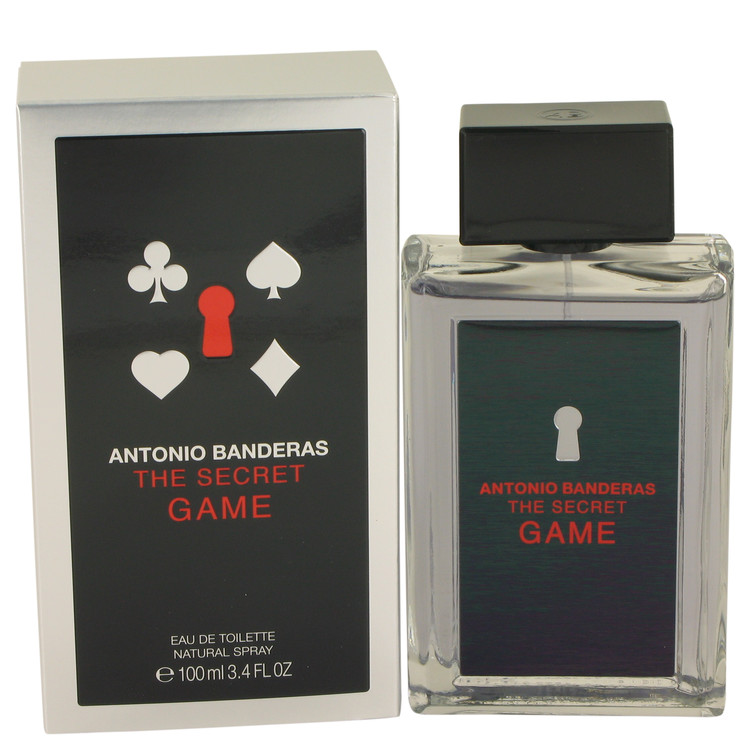 The Secret Game Cologne by Antonio Banderas 100 ml EDT Spay for Men