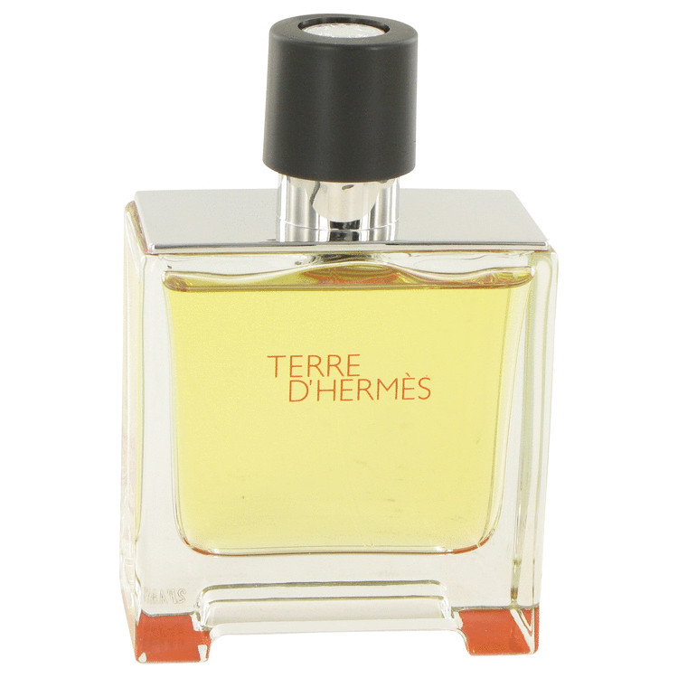 Terre D'hermes Cologne 75 ml Pure Perfume Spray (unboxed) for Men
