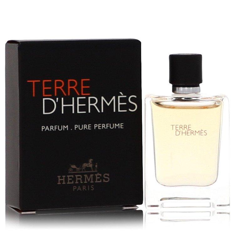 Terre D'hermes Pure Perfume by Hermes 5 ml Mini Pure Perfume for Men