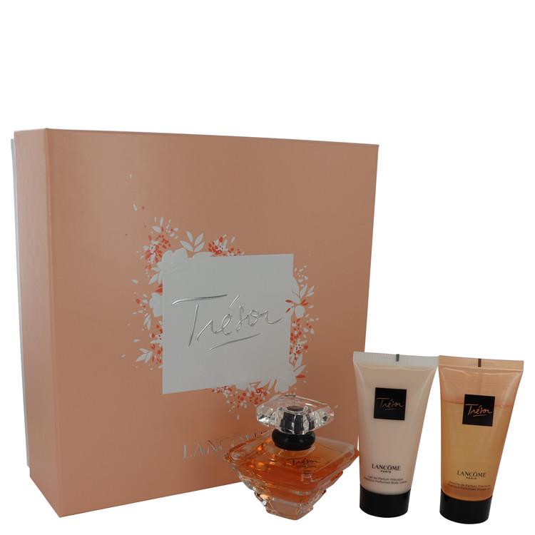 Tresor Gift Set -- Gift Set - 1.7 oz L'eau De Parfum Spray + 1.7 oz Body Lotion + 1.7 oz Shower Gel for Women
