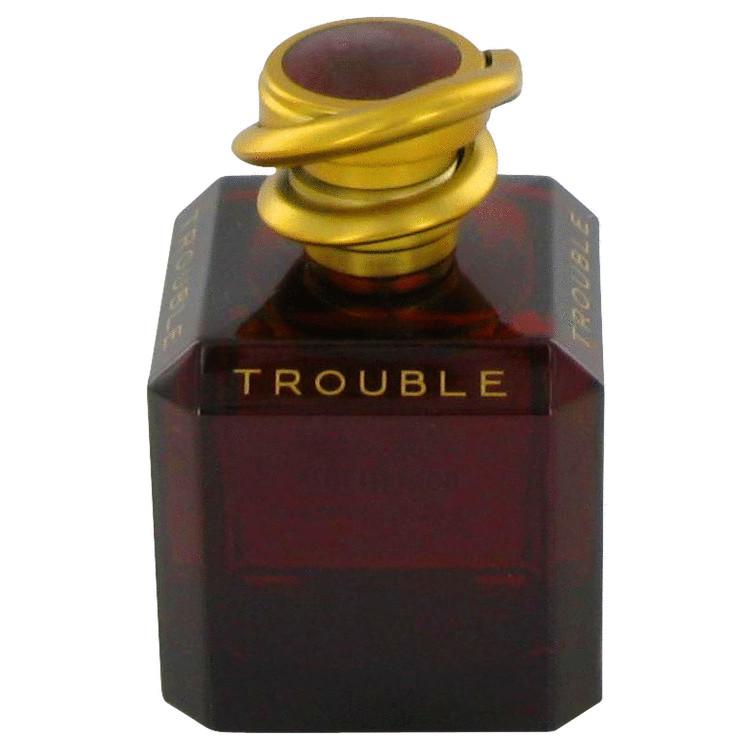 Trouble Perfume 100 ml Eau De Parfum Spray (Fresh Oriental Tester) for Women