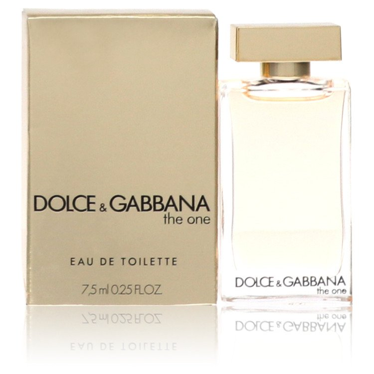 The One by Dolce & Gabbana –  Mini EDT .25 oz 7 ml for Women