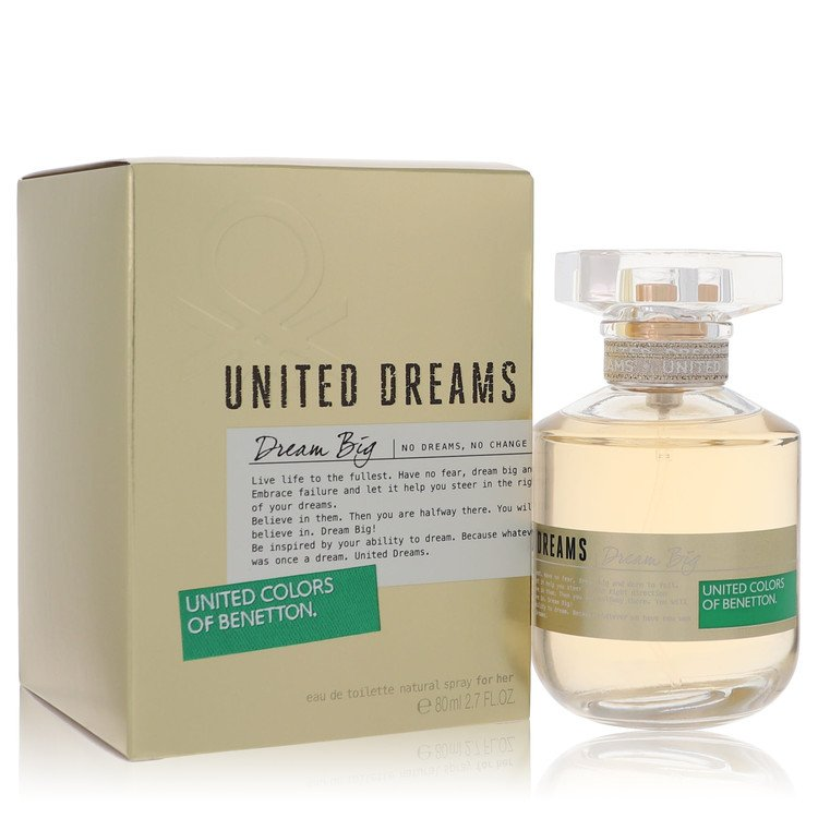 United Dreams Dream Big Perfume by Benetton 80 ml EDT Spay for Women