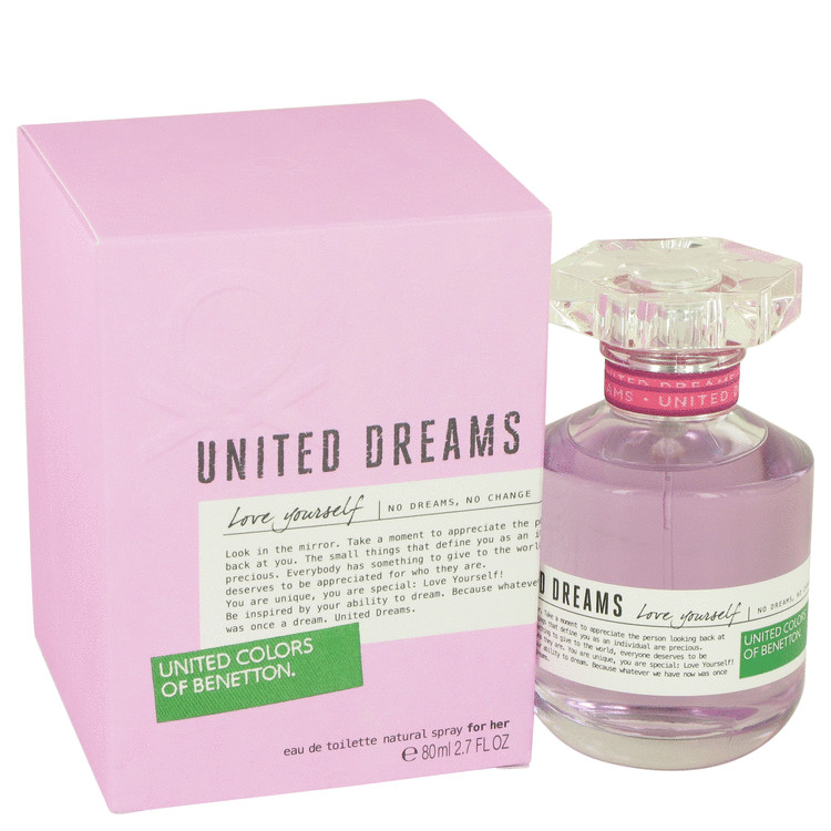 United Dreams Love Yourself Perfume 80 ml EDT Spay for Women