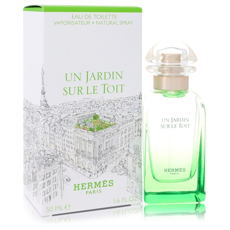 Un Jardin Sur Le Toit by Hermes for Women Eau De Toilette Spray 1.7 oz