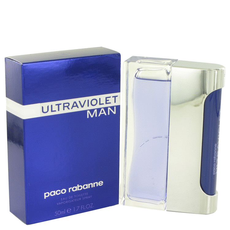Ultraviolet Cologne by Paco Rabanne 1.7 oz EDT Spay for Men