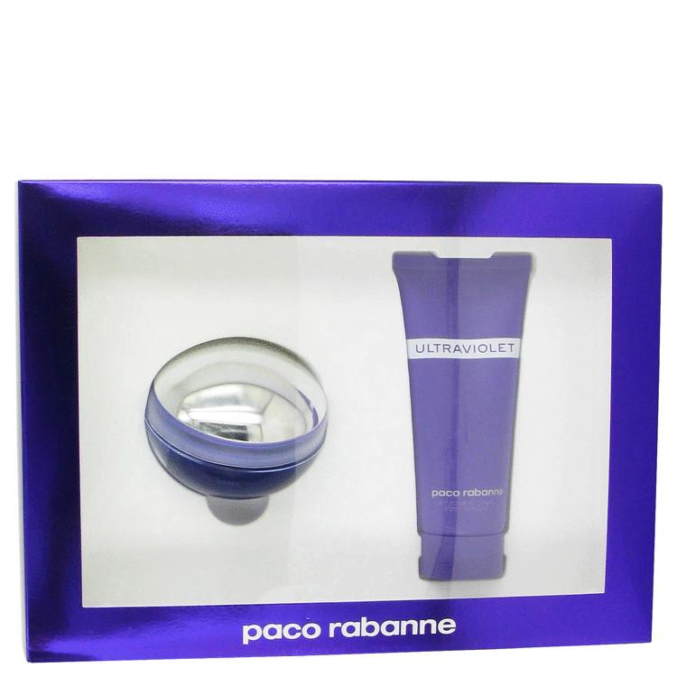Ultraviolet Gift Set -- Gift Set - 2.7 oz Eau De Parfum Spray + 3.4 oz Body Lotion for Women