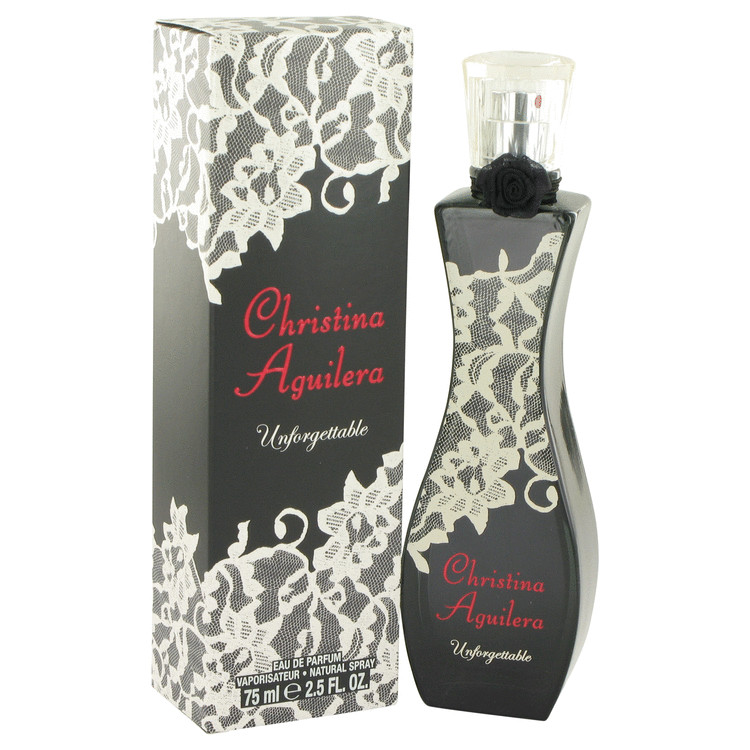 Christina Aguilera Unforgettable Perfume 75 ml EDP Spay for Women