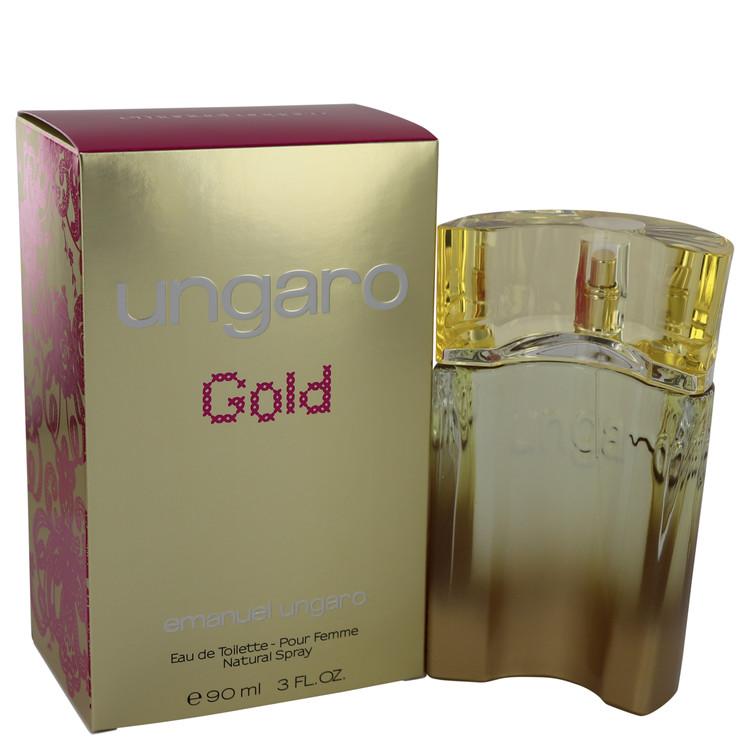 Ungaro Gold Perfume by Ungaro 90 ml Eau De Toilette Spray for Women