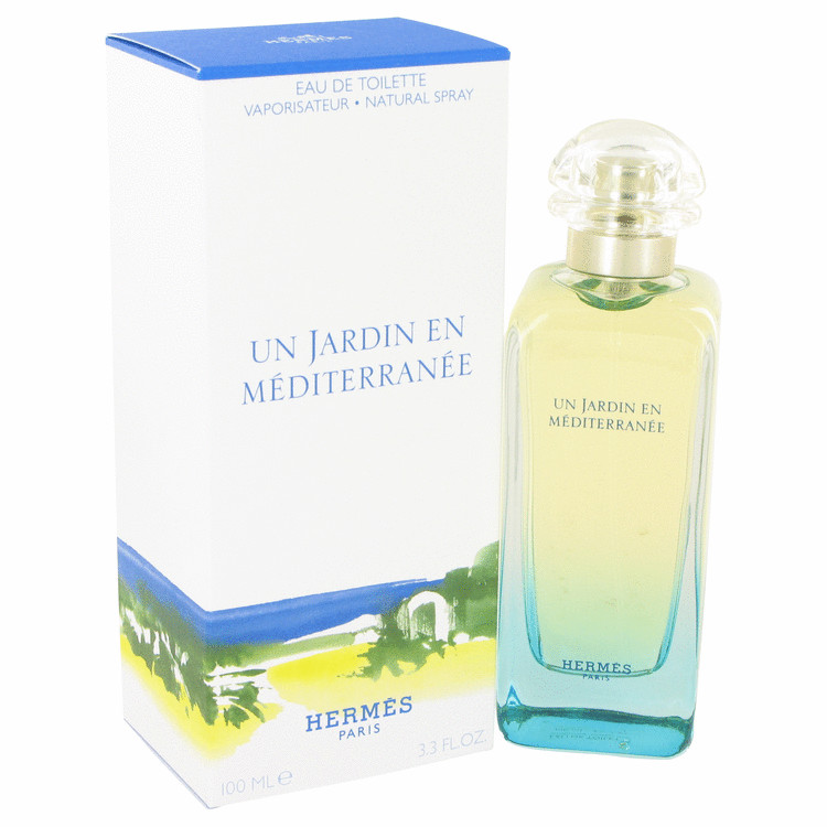 Un Jardin En Mediterranee by Hermes for Women Eau De Toilette Spray (Unisex) 3.4 oz