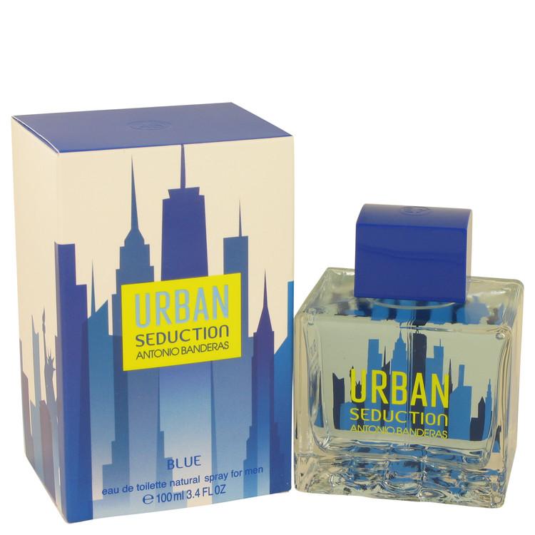 Urban Seduction Blue Cologne 100 ml EDT Spay for Men