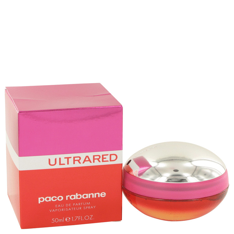 Ultrared by Paco Rabanne for Women Eau De Parfum Spray 1.7 oz